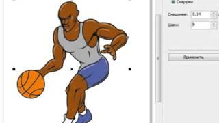Уроки Корел. Corel Draw X5 для новичков. Контур объекта (7.4) Хорошее качество видео уроки для начин