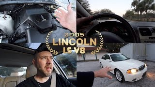 Here's why the Lincoln LS V8 Sport was $40,000 in 2005 ( Test Drive & Review )