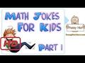 Funny Math Jokes For Kids  Children   Teachers Part 1