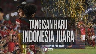 WOW!! INI SELEBRASI TIMNAS INDONESIA JUARA AFF U16 FULL