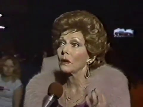 Very First L.A. AIDS BenefitWomen Behind Bars, 1983, Jean Simmons, Mamie Van Doren