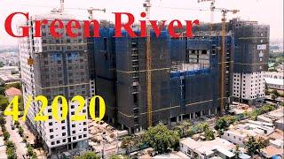 Cập Nhật 4/2020 Tiến Độ Dự Án Căn Hộ Green River Phạm Thế Hiển Quận 8 Mới Nhất