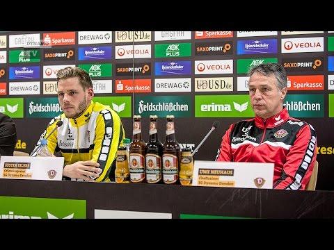 24. Spieltag | HFC - SGD | Pressekonferenz vor dem Spiel