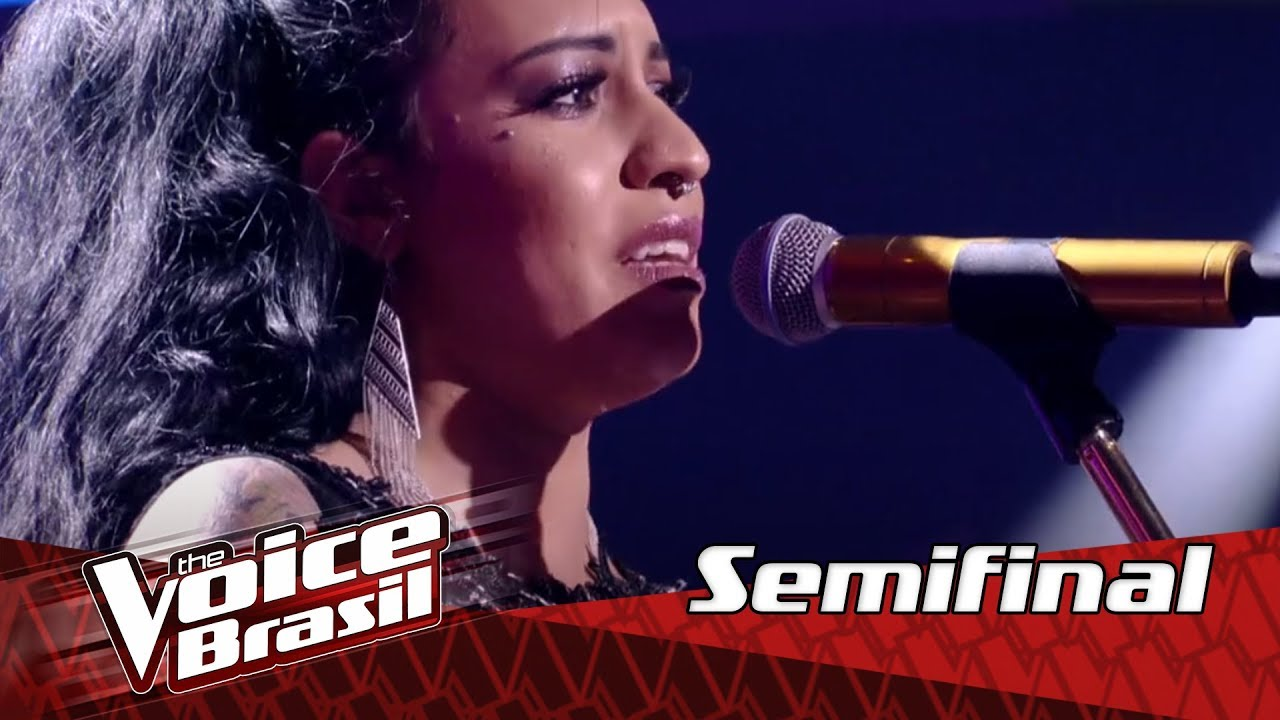 "Samantha Ayara canta ""I'll Never Love This Way Again"" na Semifinal – 'The Voice Brasil' 