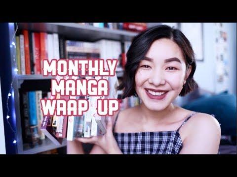 MONTHLY MANGA WRAP UP / HAUL