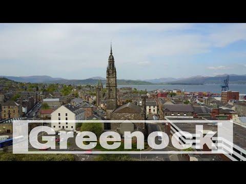 Drone Greenock Scotland