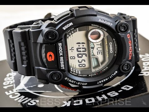 da8ccb5d5 Casio GSHOCK G7900-1 REVIEW | How To Set Time | LIGHT DISPLAY - YouTube