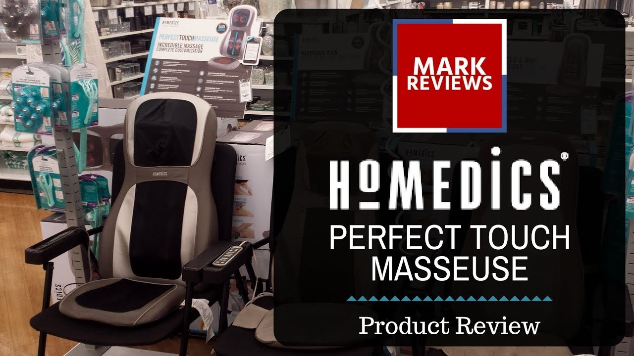 REVIEW HoMedics Perfect Touch Masseuse Massage Chair YouTube