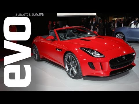 Jaguar F-type review - evo at the Paris motor show