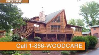 Indiana Deck Cleaning & Sealing Contractor - Log Home Cedar Siding Fencing Valparaiso Timberseal