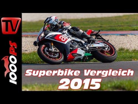 Aprilia RSV4 RF Test 2015 - 1000cc Vergleich | Bestes Superbike?