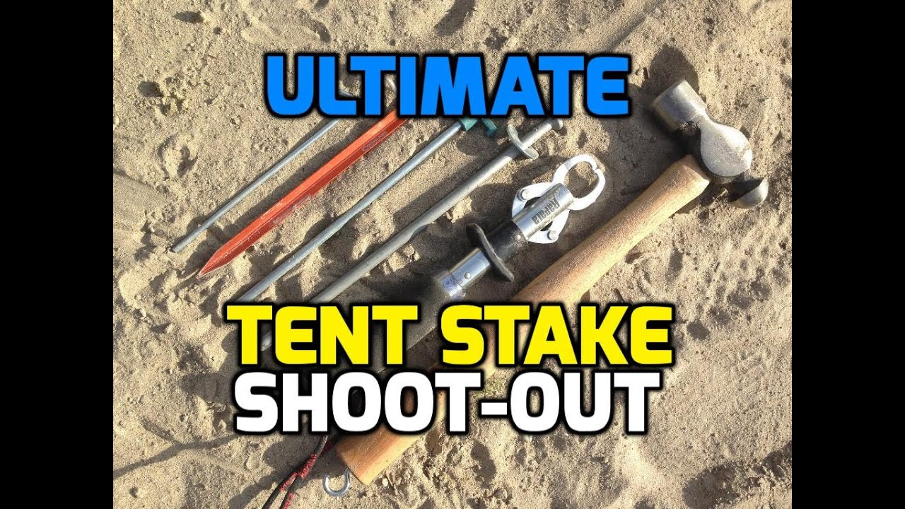 sc 1 st  YouTube & Best Tent Stakes - Top Camping Tent Stake Shootout HD - YouTube