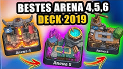 20 Wins in Folge 🏆 BESTES Deck Arena 4,5 & 6 | Clash Royale Tipps und Tricks Deutsch