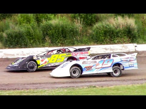 Crate Late Model Heat One | Genesee Speedway | 6-23-18