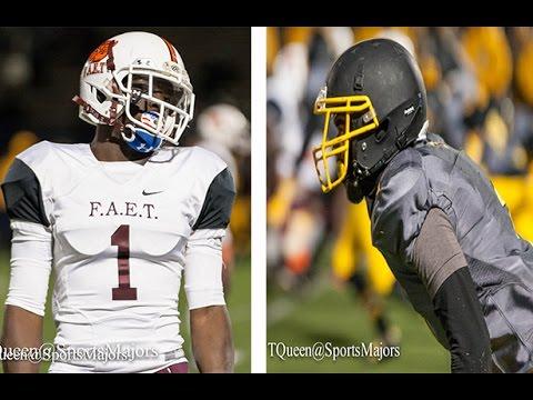 FAET vs Reginald F Lewis High School Football 2016