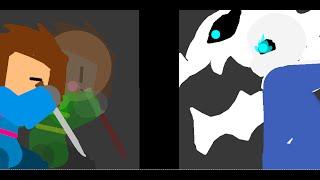 Undertale - Frisk VS Sans Animation (Pivot)