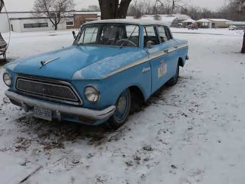 Why I drive a 1963 Rambler American in winter