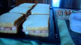Grilled Hot Dog & Cheese Sandwich