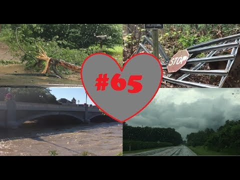 Weekly Vlog #65 - Trapped In Woods During A Tornado Warning.