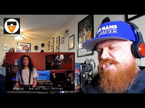 Red Hot Chili Peppers - Give It Away - 20 Style Cover - Reaction / Review
