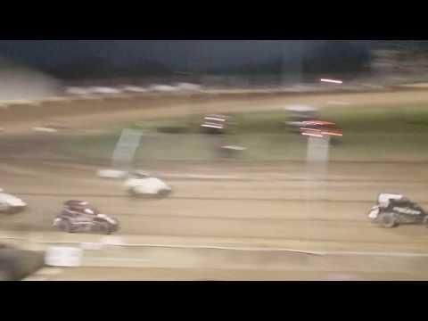 USAC Midgets B Main  Kokomo Speedway 4/6/19