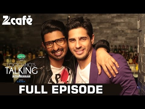 Look Who's Talking with Niranjan Iyengar - Sidharth Malhotra - Full Episode - Zee Cafe