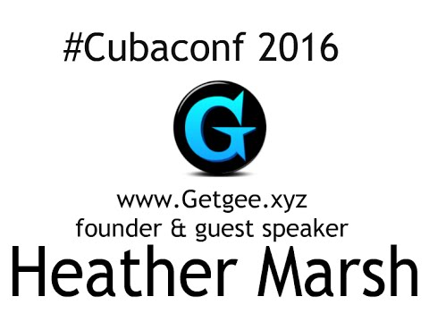 Heather Marsh in Cuba Free Software Foundation 2016