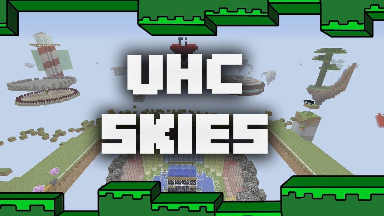 UHC Skies - A Minecraft Xbox Pvp Map w/Download