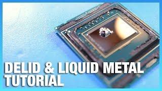 Skylake X i9 Delid & Liquid Metal Application Tutorial