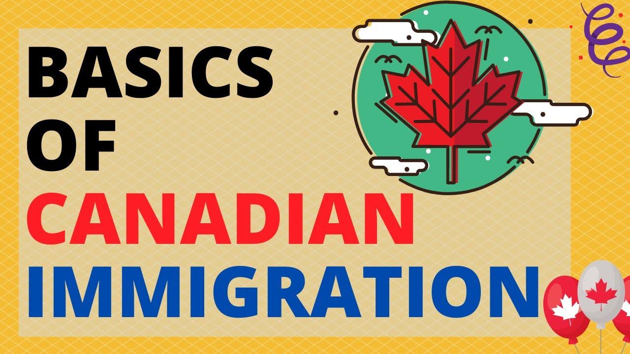 Basics of Canada immigration