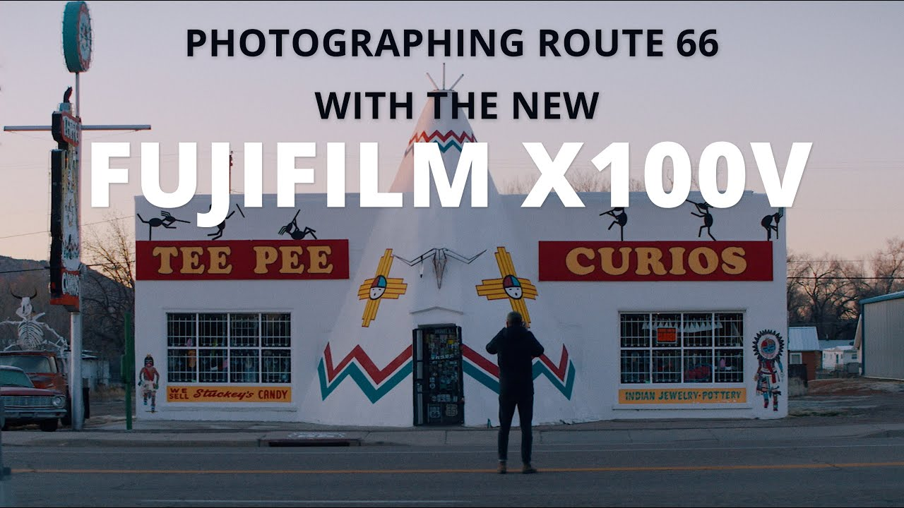 Fujifilm X100V - Photographing Route 66 with Fujifilm's latest compact camera
