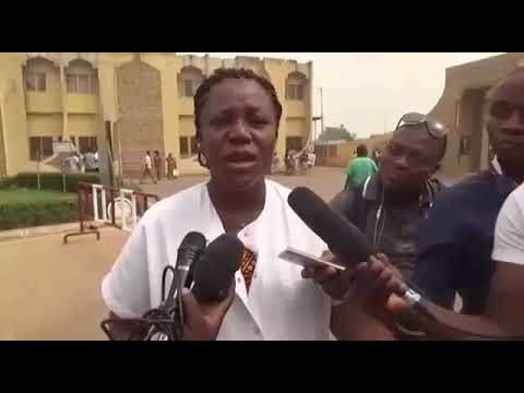 Health workers sit-down Strike in Togo