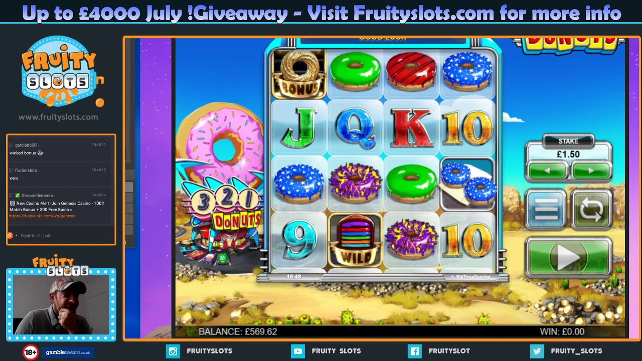 Donuts Bonus Wins New Online Btg Slot Youtube