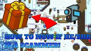 """✔Graal Online Classic:How to know if he/she are """"SCAMMER"""""""