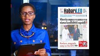 Magazetini January 17, 2019; Obasanjo amwagia sifa JPM, Bocco kuwakosa wacongo.