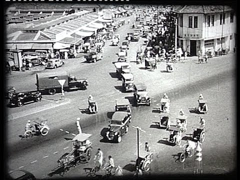 Indonesia, Jakarta and Medan in 1948