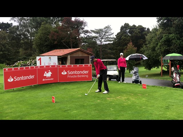 Salidas partido estelar 2ª Jornada Santander Golf Tour La Coruña