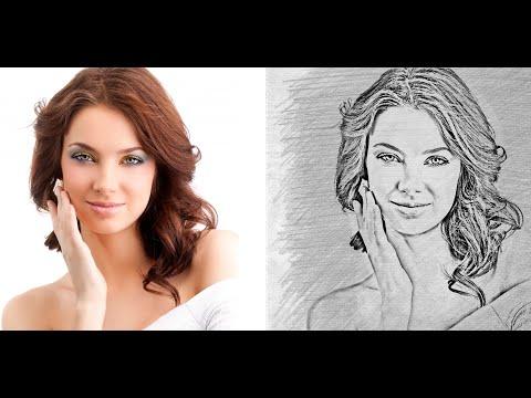 Эффект рисунка от руки в фотошопе без лишних слов