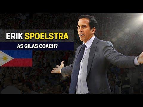 Pwede kaya si Coach ERIK SPOELSTRA sa Gilas Pilipinas?