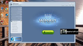 How to remove watermark from WinAvi All in one converter