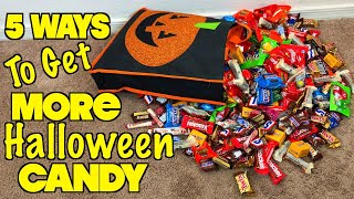 5 Ways To Get More Halloween Candy - PART 3 ( Must Try) Trick Or Treat Ideas | Nextraker