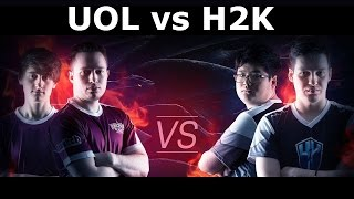 UOL vs H2K Gaming 3rd Place Full match (all Games) | Lol eSports S6 EU LCS Summer 2016 PlayOffs