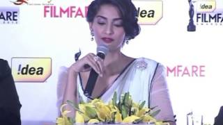Sonam Kapoor Announces 58th Idea Filmfare Awards
