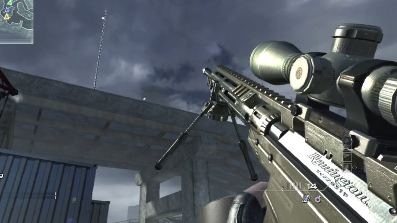 Modern Warfare 3 Msr Bolt Action Sniper Rifle Quickscoping Gameplay Call Of Duty Mw3 Youtube