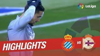 Resumen de RCD Espanyol vs Deportivo de la Coruña (1-1)