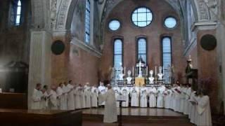 Tibi silentium laus, Canto Gregoriano, Giovanni Vianini, Milano, it.