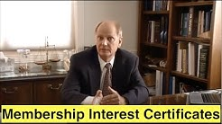 Membership Interest Certificates