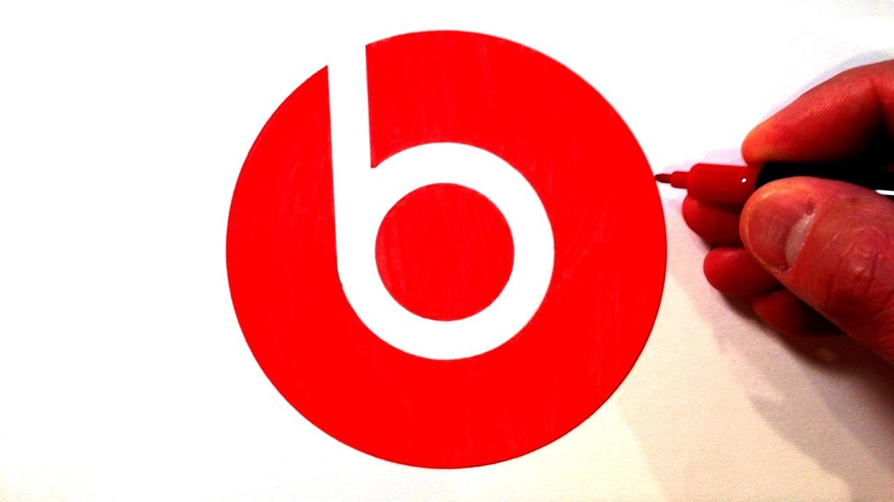how to draw the beats logo youtube
