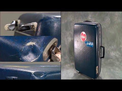 Ремонт по-японски: Ремонт чемоданов