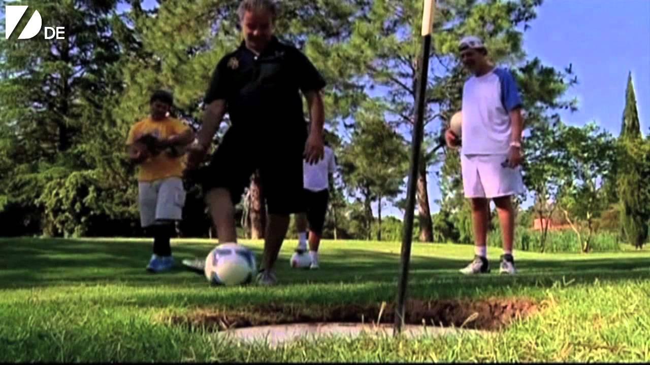 Unglaubliches Fussball Golf